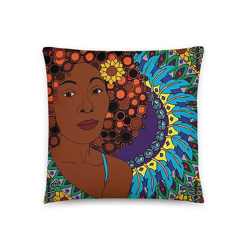 Coloring Book Basic Pillow - Melanie