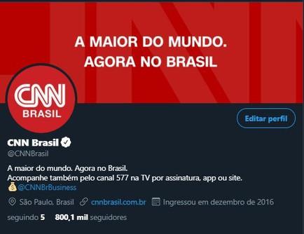 Twitter @cnnbrasil