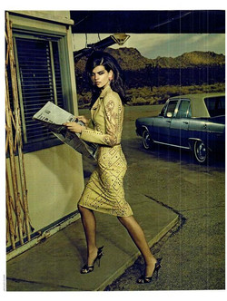 alexandra tomlinson by jacques olivar for marie claire italia