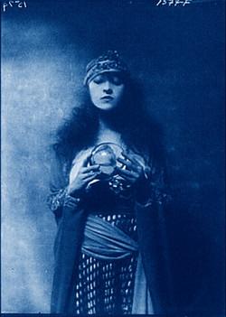 fortune teller-cyanotype2