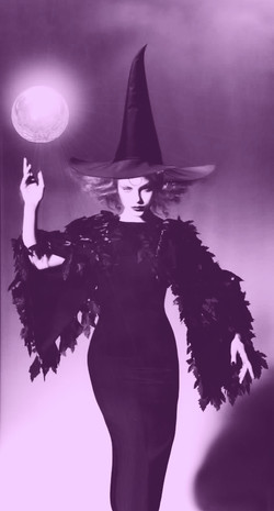 witch moon colour purple
