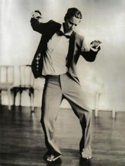Paolo Roversi dancing