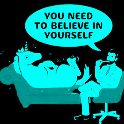 believe in yourself green