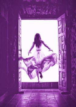 Carlos Medina high exposure purple