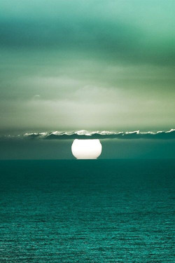 green full moon