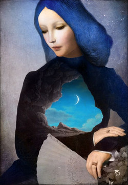 christian shloe blue new moon