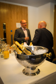 Corporate Drinks for grand opening of new offices