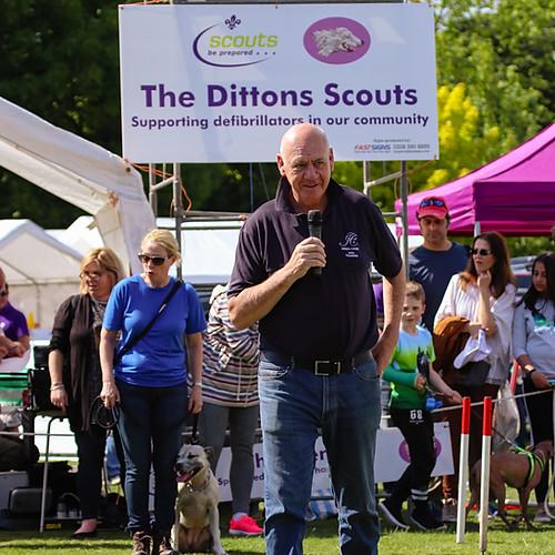 Dittons Fair Dog Show with Harry O'Neill