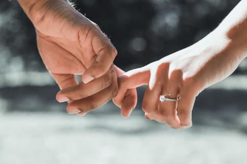 Marriage proposal, London
