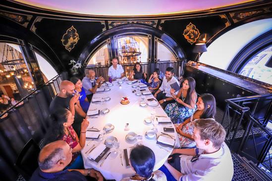 Engagement party, London