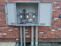 HV meter box