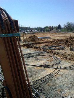 St. Pauls - Trenching in