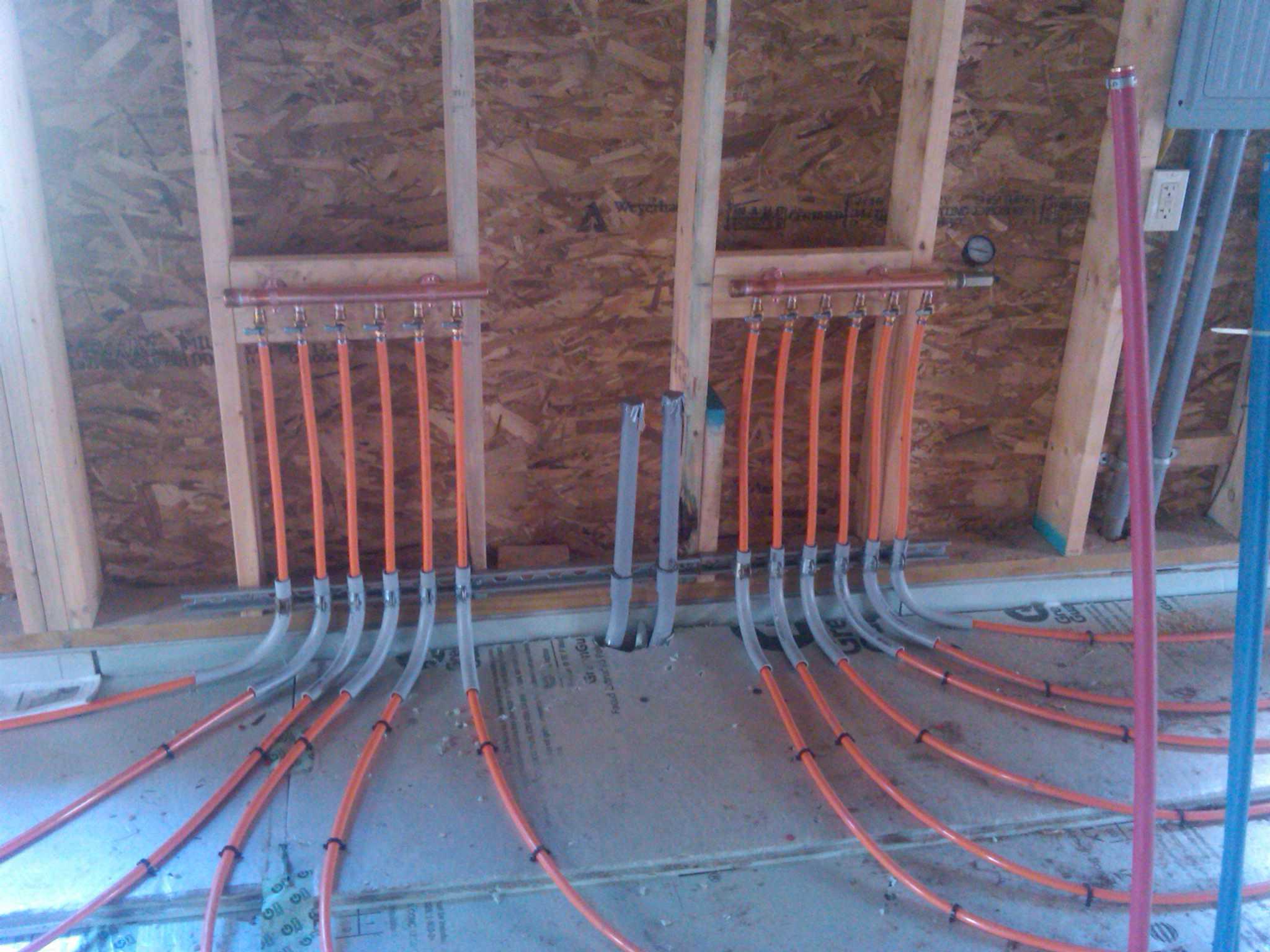 Radiant Tube Floor Heating