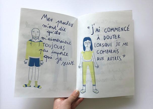 Graphisme éditorial - Atelier de sensibilisation au genre - La fabrique du genre