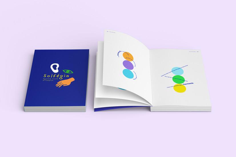 Solfégia - Design graphique conceptuel - édition et application pédagogiques pour apprendre le solfège