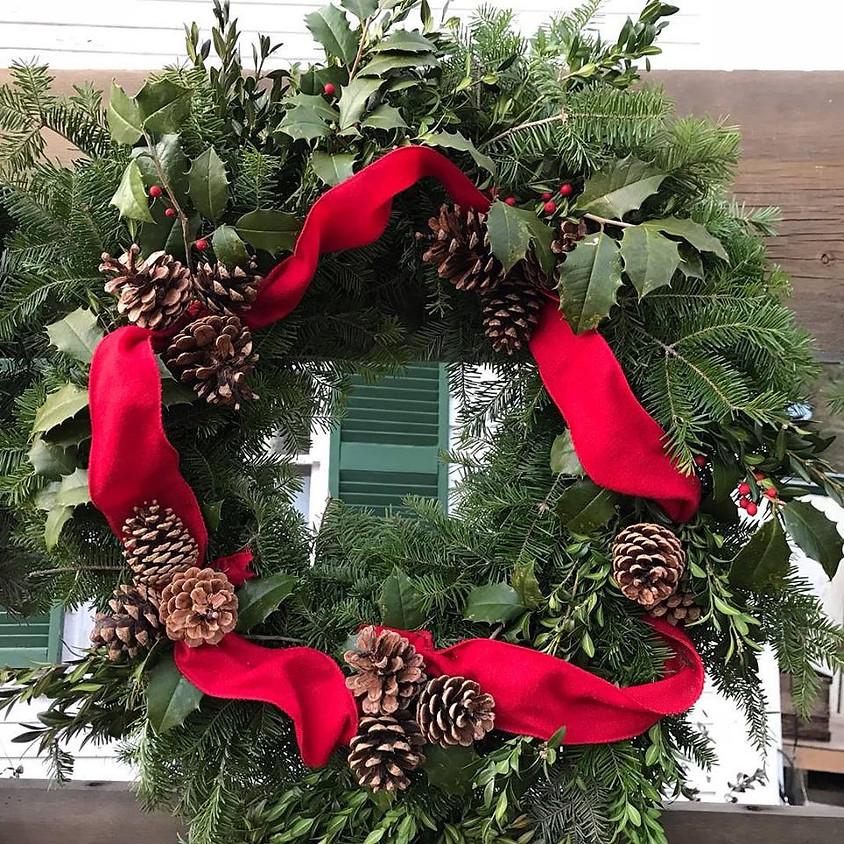 Holiday Wreath Workshop 12/6