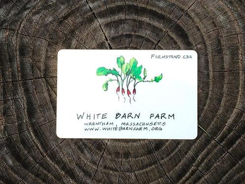 $200 Farmstand Card