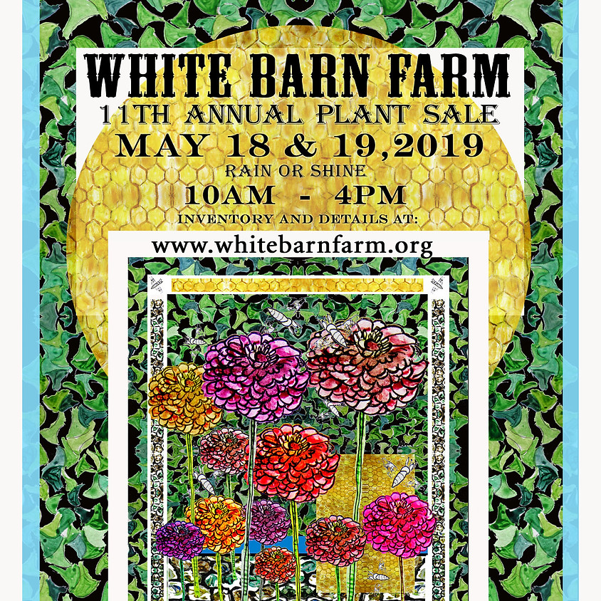Annual Plant Sale - May 18th-19th 10am-4pm