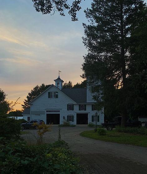 Barn Twilight