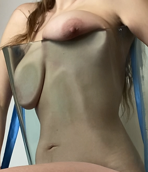 Michaela Stark Glass Boobs