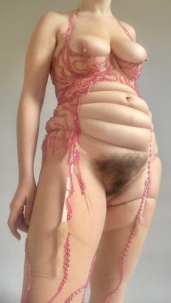 Michaela Stark Second Skin self portrait vagina
