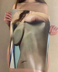 Michaela Stark Glass Poster Body