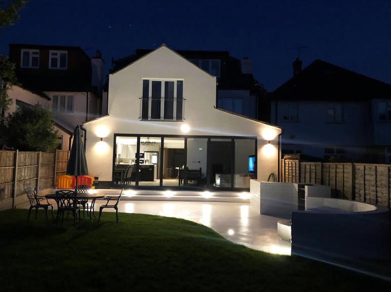 Modern Rear House Extension