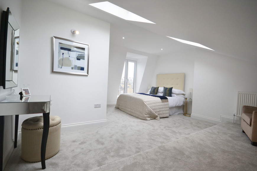 Master Bedroom After Property Refurbishment