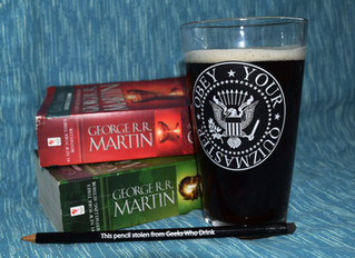 Game of Thrones and Geeks Who Drink
