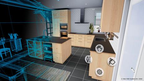 Система трекинга позволяет физически перемещаться по виртуальной модели
