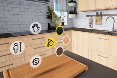 Воссозданная в виртуальной среде полноразмерная модель объекта недвижимости