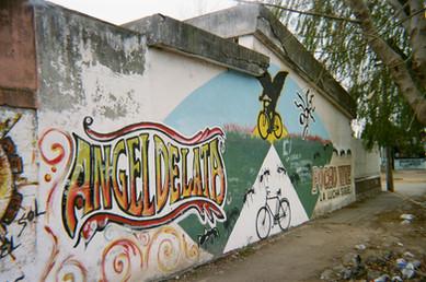 "Claudio ""Pocho"" Lepratti memorial mural, Argentina"