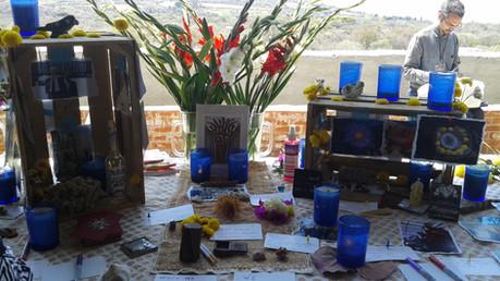 Ibogaine rememberance altar, Mexico
