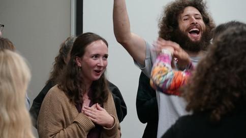 Laughter Yoga at Brushwood Center