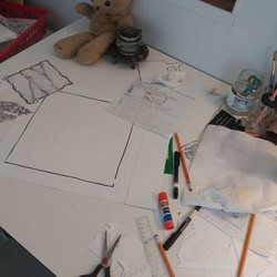 My drawing desk!