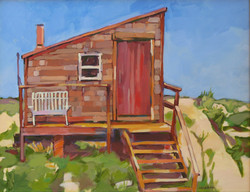 Wellfleet dune shack