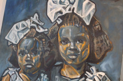 """Detail from """"Sisters, 1917"""""""