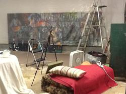 Setting up the studio 09/12