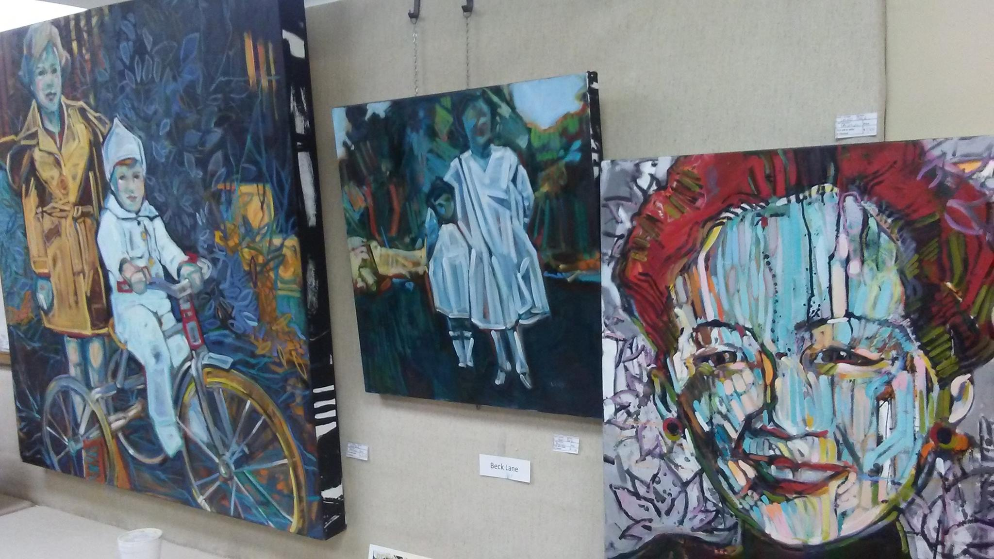 Paintings at private event