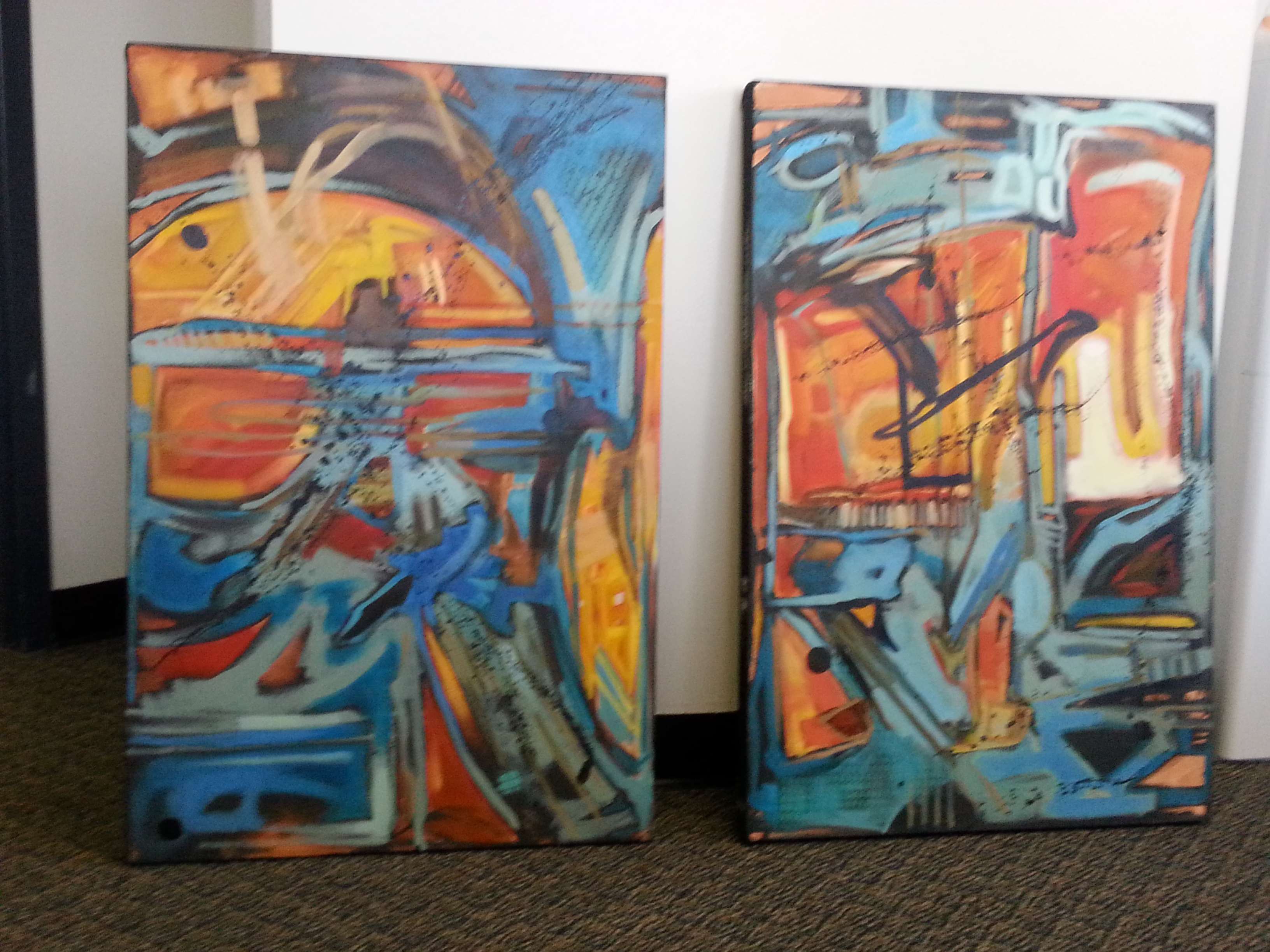 Two panel abstracts