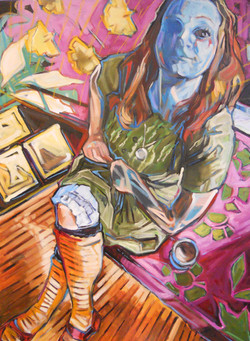 Painter Heather Adeles
