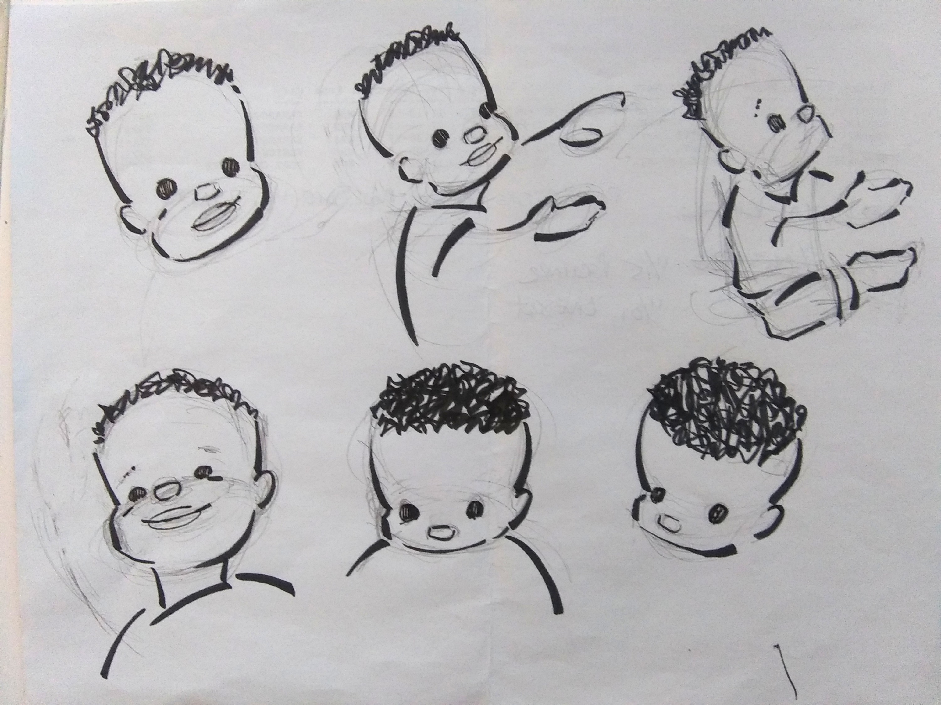 Sketches of Jimmy