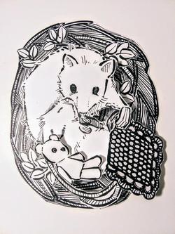A mouse & his parent