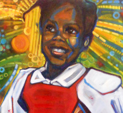 """Detail from """"Ruby Bridges"""""""