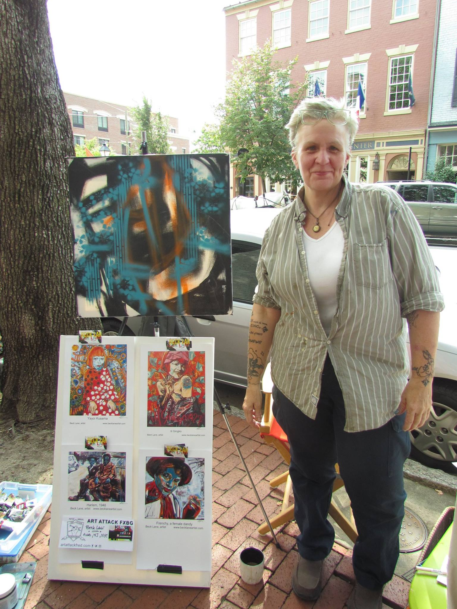 At Art Attack 2016 Fredericksburg