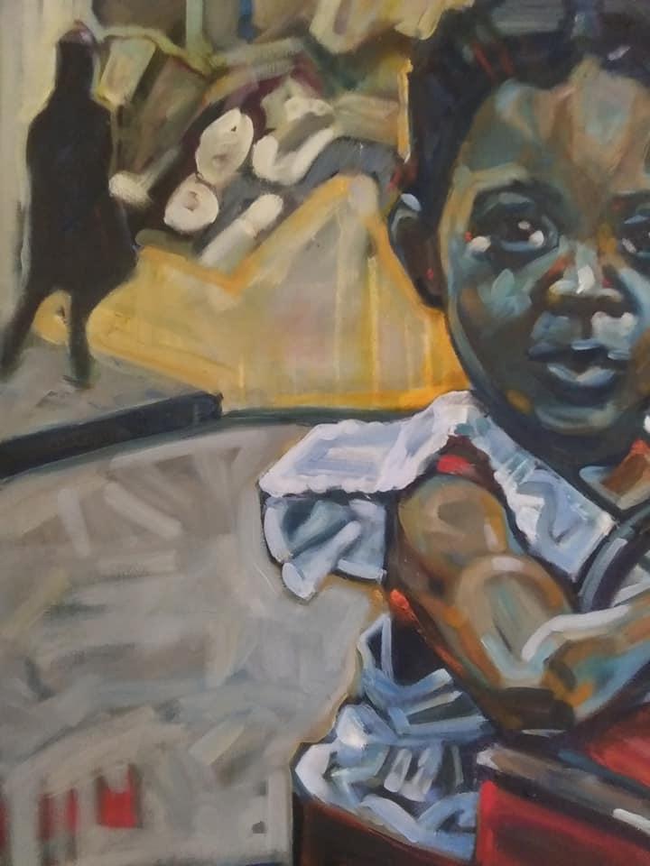 """Detail """"Harlem 1945"""""""