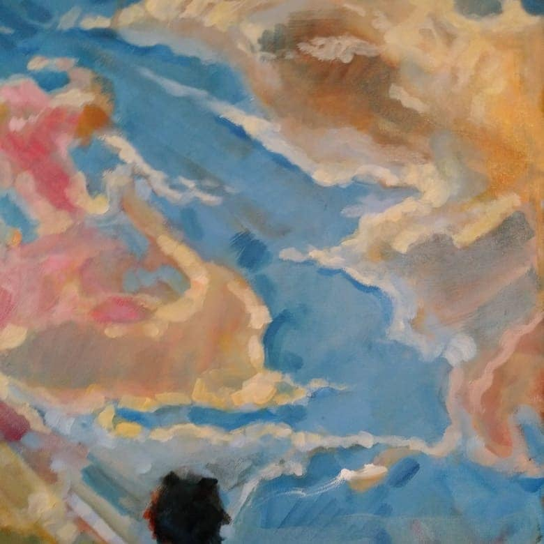 """cDetail from """"Clouds over Sarasota"""""""