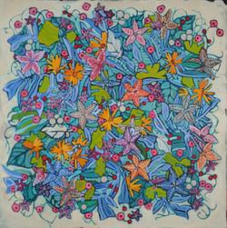 Starfish abstract