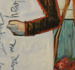 """Detail from """"Sister my sister"""""""