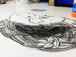 A 3D paper project